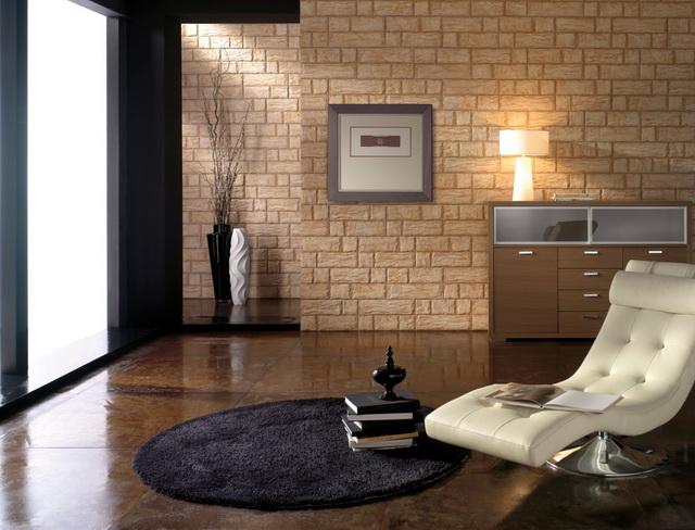 Клинкерный кирпич в интерьере квартиры