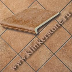 Плитка  KERAPLATTE ROCCIA, глазурованая 839 ferro