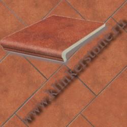 Плитка  KERAPLATTE ROCCIA, глазурованая 841 rosso