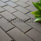 Тротуарная плитка Брусчатка 200*100*40 Серая (полный прокрас)