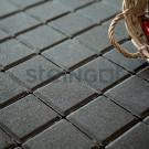 Тротуарная плитка Квадрат 100*100*60 Черный (верхний прокрас)