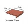 Плитка - элемент Keraelement Terio Tec 927 rosenglut