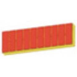 Регент с плиткой 361 naturrot толщина 80мм добор